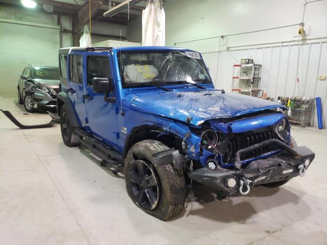 Salvage cars for sale from Copart Leroy, NY: 2016 Jeep Wrangler U