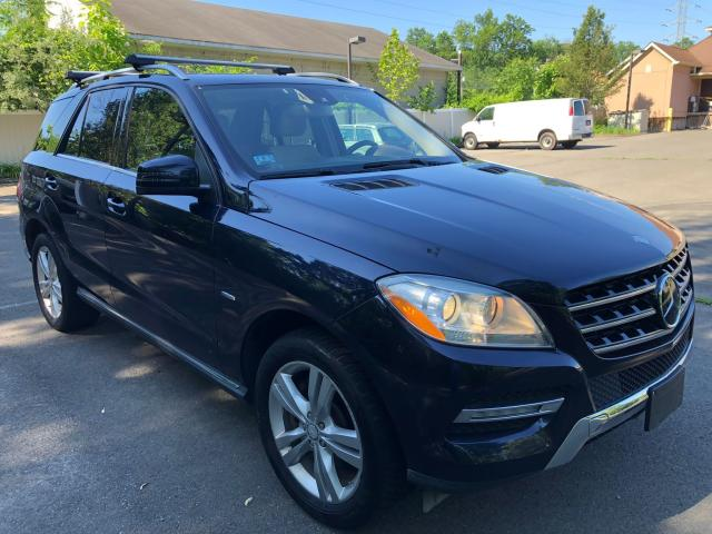 Salvage cars for sale from Copart New Britain, CT: 2012 Mercedes-Benz ML 350 BLU