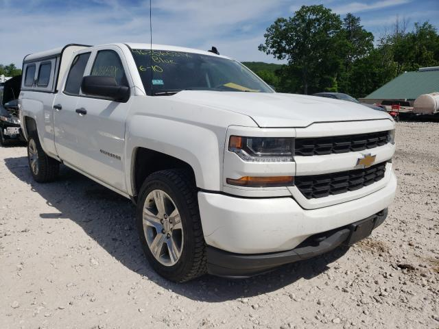 Salvage cars for sale from Copart West Warren, MA: 2018 Chevrolet Silverado