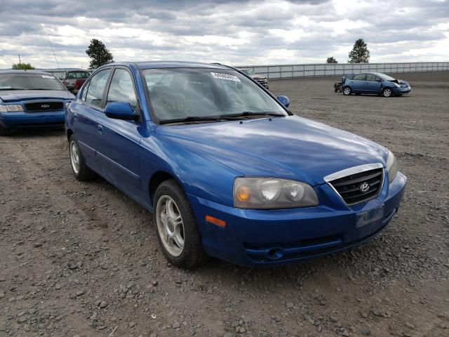 Salvage cars for sale from Copart Airway Heights, WA: 2005 Hyundai Elantra GL