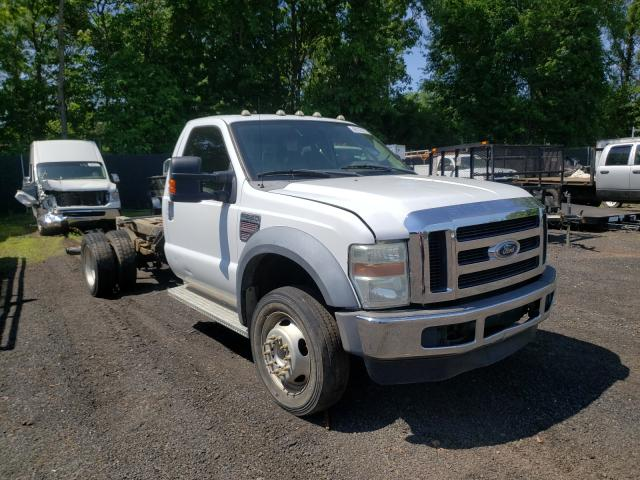 Salvage cars for sale from Copart New Britain, CT: 2008 Ford F550 Super