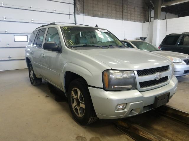 Chevrolet Trailblazer salvage cars for sale: 2007 Chevrolet Trailblazer