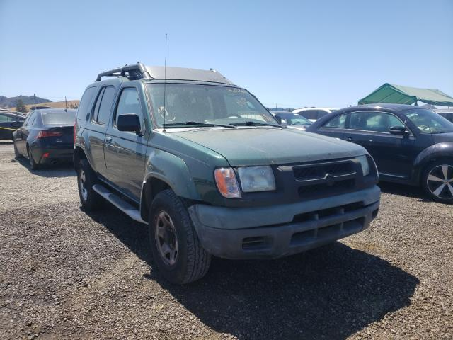 Salvage cars for sale from Copart San Martin, CA: 2001 Nissan Xterra XE