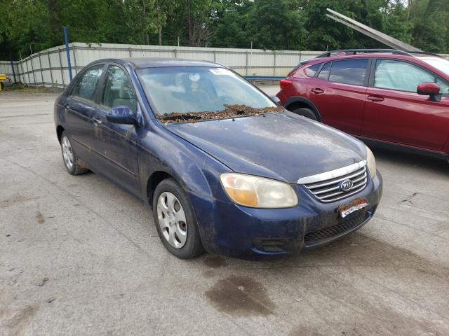 Salvage cars for sale from Copart Ellwood City, PA: 2007 KIA Spectra EX