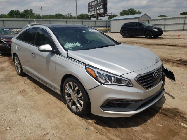 Salvage cars for sale from Copart Wichita, KS: 2015 Hyundai Sonata Sport