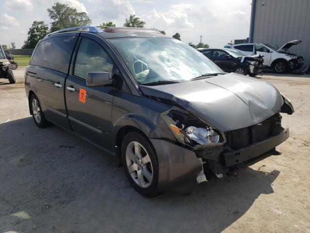 Salvage cars for sale from Copart Sikeston, MO: 2007 Nissan Quest S