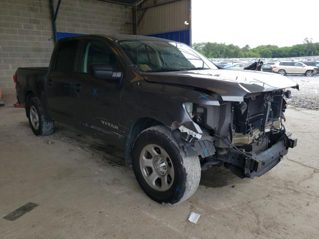 Salvage cars for sale from Copart Cartersville, GA: 2017 Nissan Titan S