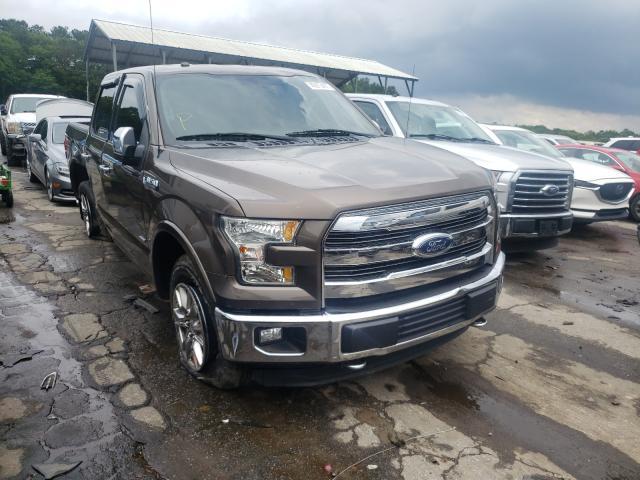 Vehiculos salvage en venta de Copart Austell, GA: 2016 Ford F150 Super