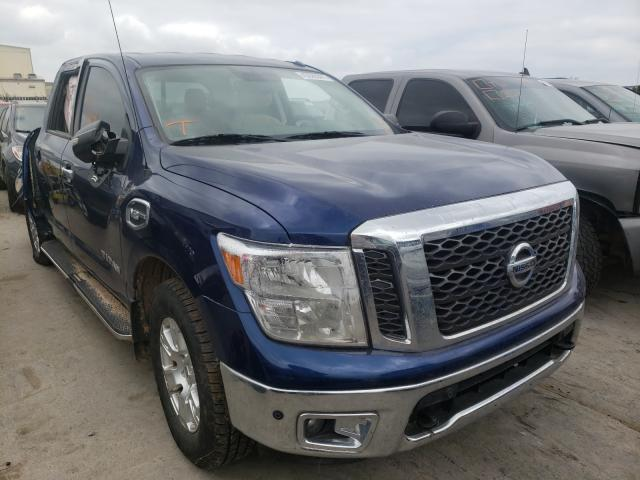 Salvage cars for sale from Copart Tulsa, OK: 2017 Nissan Titan SV