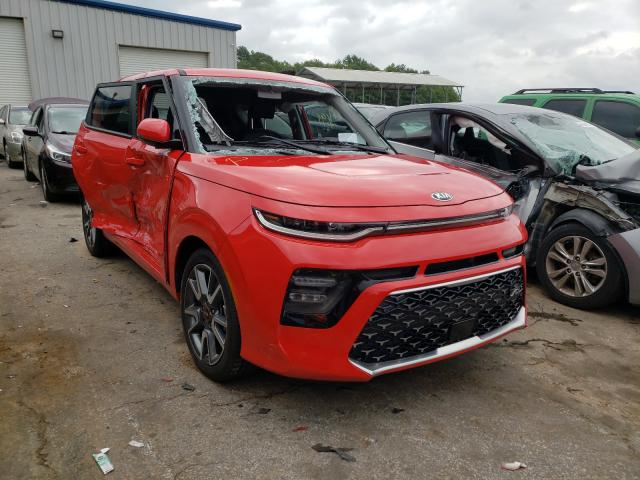 Salvage cars for sale from Copart Austell, GA: 2021 KIA Soul GT-LI