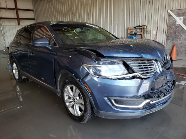 Salvage cars for sale from Copart Albany, NY: 2018 Lincoln MKX Premium