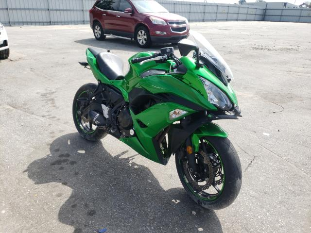 Salvage cars for sale from Copart Dunn, NC: 2019 Kawasaki EX650 J