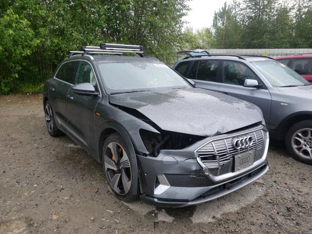 Salvage cars for sale from Copart Arlington, WA: 2019 Audi E-TRON PRE