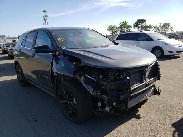 Salvage cars for sale from Copart Brookhaven, NY: 2021 Chevrolet Equinox LT