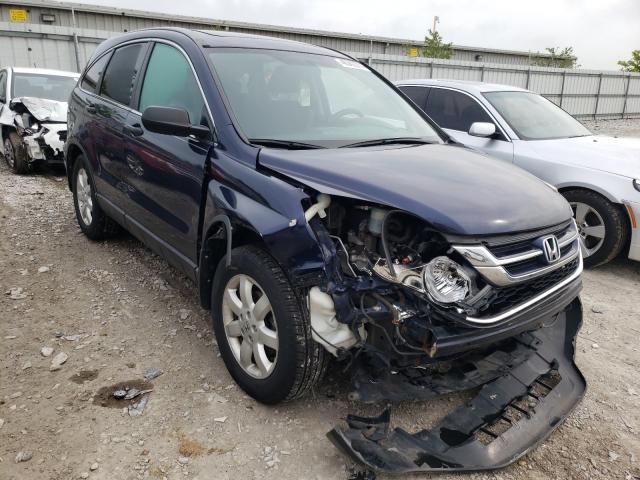 Salvage cars for sale from Copart Walton, KY: 2010 Honda CR-V EX