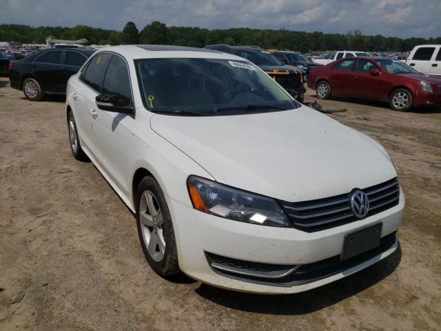 Salvage cars for sale at Conway, AR auction: 2013 Volkswagen Passat SE