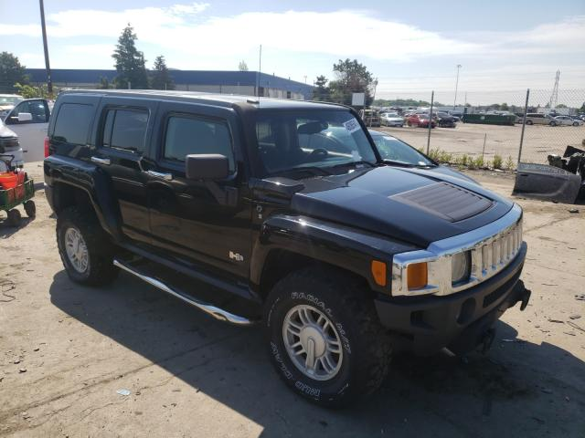 Hummer H3 salvage cars for sale: 2008 Hummer H3