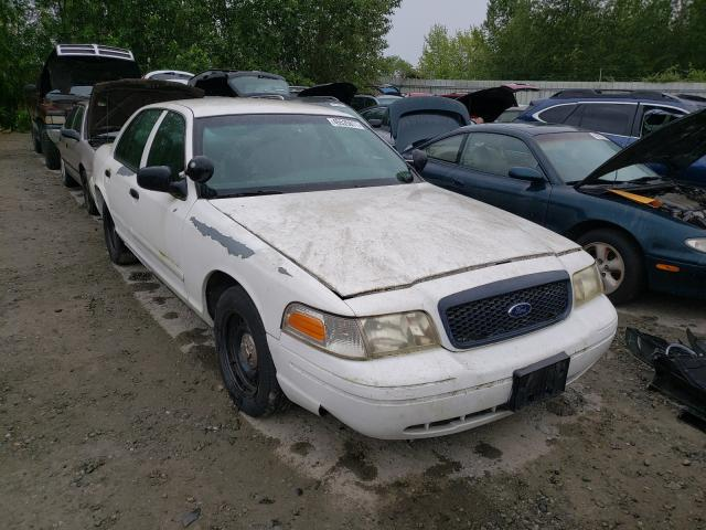 Ford Crown Victoria salvage cars for sale: 2001 Ford Crown Victoria