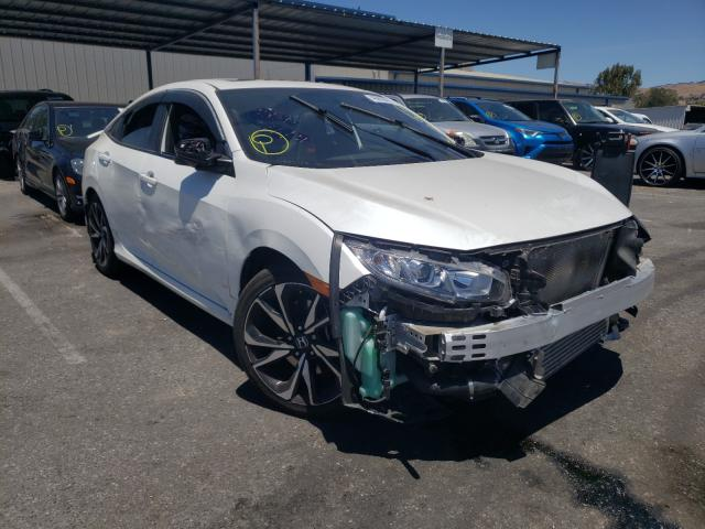 Salvage cars for sale from Copart San Martin, CA: 2018 Honda Civic SI