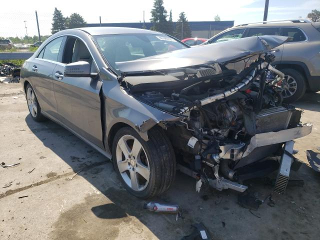 Salvage cars for sale from Copart Woodhaven, MI: 2016 Mercedes-Benz CLA 250 4M