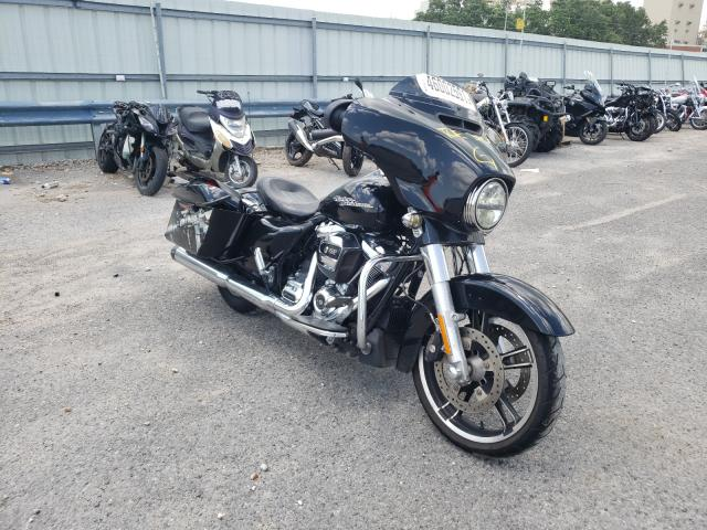 Salvage cars for sale from Copart New Orleans, LA: 2017 Harley-Davidson Flhxs Street
