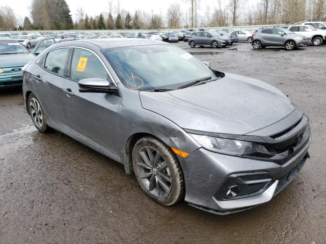 Salvage cars for sale from Copart Portland, OR: 2021 Honda Civic EX