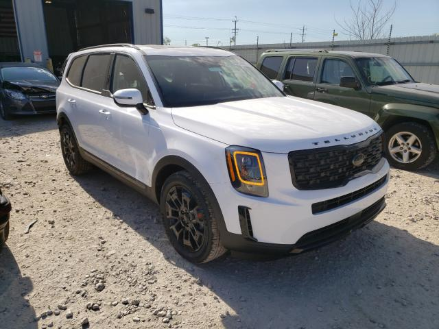 Salvage cars for sale from Copart Appleton, WI: 2021 KIA Telluride