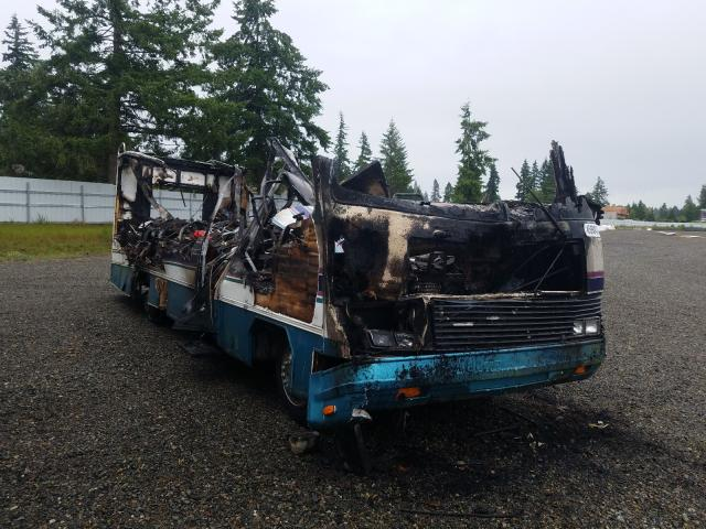 Salvage trucks for sale at Graham, WA auction: 1994 Chevrolet P30