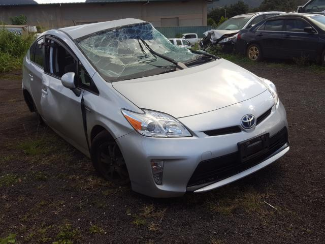 Toyota salvage cars for sale: 2014 Toyota Prius