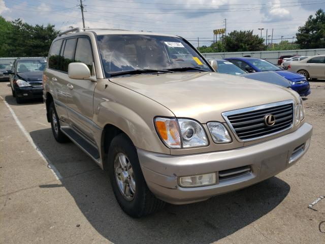Salvage cars for sale from Copart Moraine, OH: 2002 Lexus LX 470