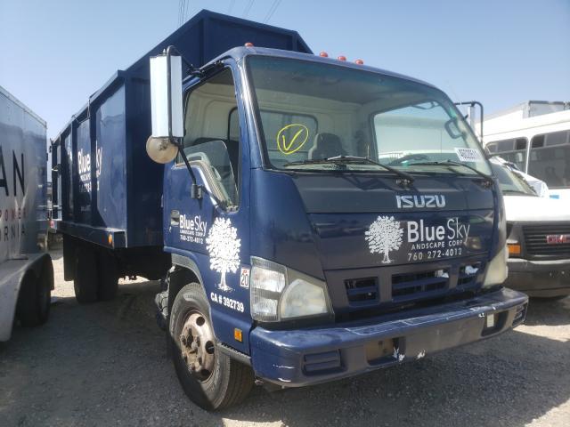 Salvage trucks for sale at Rancho Cucamonga, CA auction: 2006 Isuzu NPR