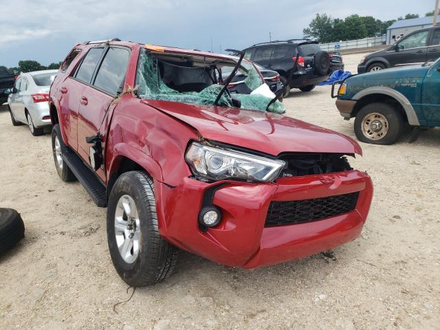 Salvage cars for sale from Copart Newton, AL: 2019 Toyota 4runner SR