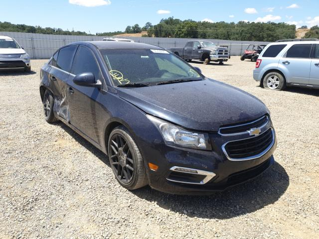 Salvage cars for sale from Copart Anderson, CA: 2015 Chevrolet Cruze LT