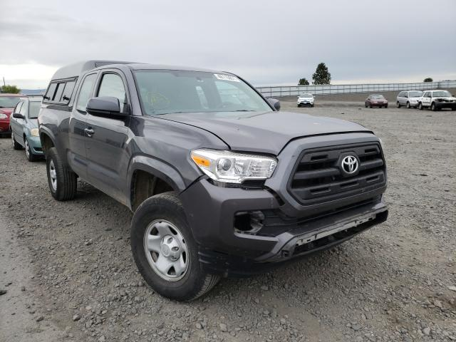 Salvage cars for sale from Copart Airway Heights, WA: 2017 Toyota Tacoma ACC