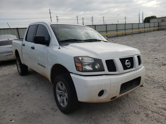 Salvage cars for sale from Copart Haslet, TX: 2005 Nissan Titan XE