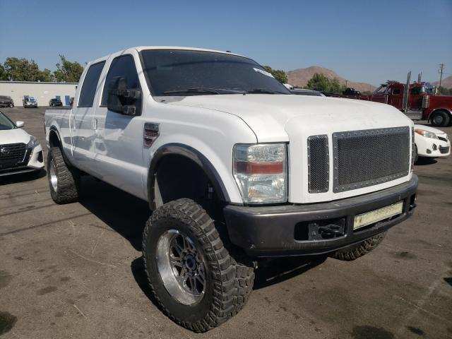 Salvage cars for sale from Copart Colton, CA: 2008 Ford F250 Super
