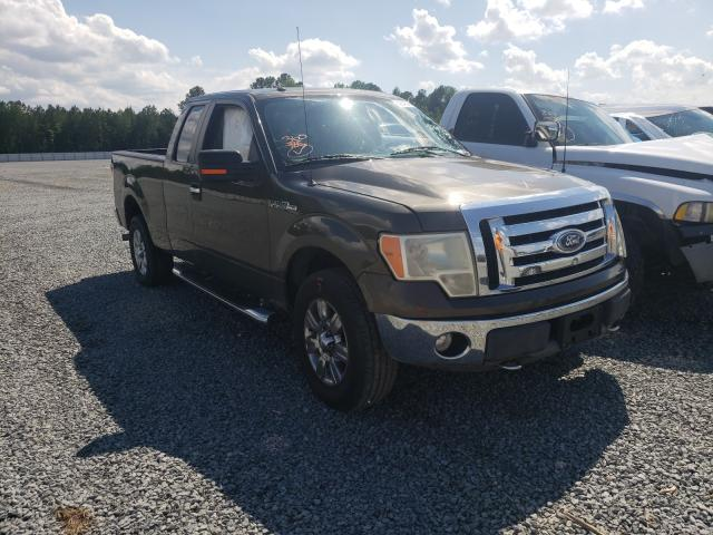 Salvage cars for sale from Copart Lumberton, NC: 2009 Ford F150 Super