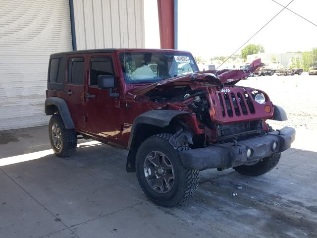 Salvage cars for sale from Copart Billings, MT: 2012 Jeep Wrangler U