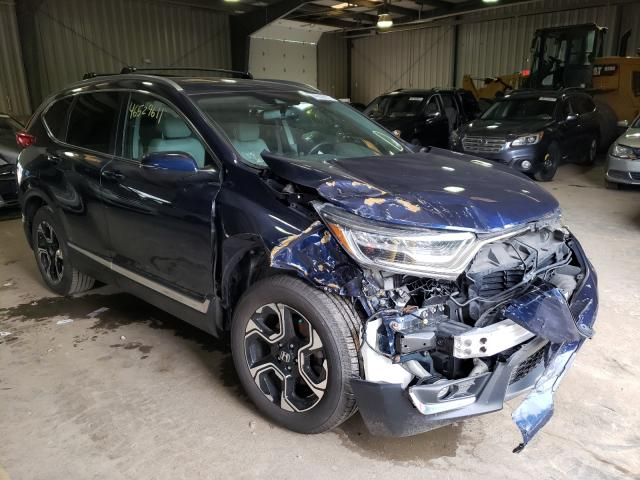 Salvage cars for sale from Copart West Mifflin, PA: 2018 Honda CR-V Touring