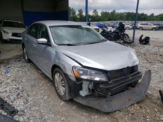 Salvage cars for sale from Copart Cartersville, GA: 2012 Volkswagen Passat S