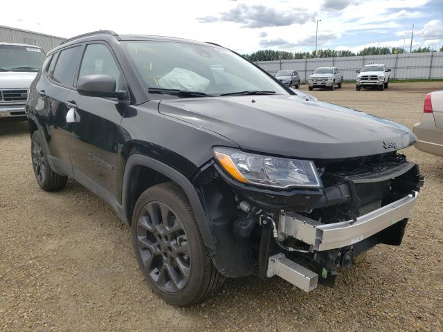 Salvage cars for sale from Copart Nisku, AB: 2021 Jeep Compass LA