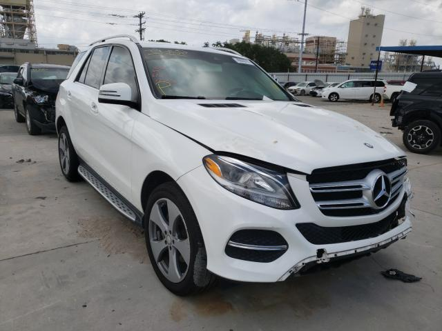 Salvage 2016 MERCEDES-BENZ GLE-CLASS - Small image. Lot 46600781