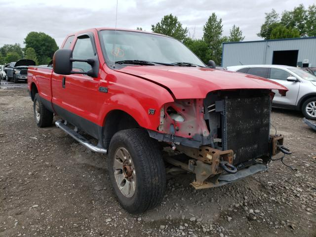 Salvage cars for sale from Copart Portland, OR: 2004 Ford F250 Super