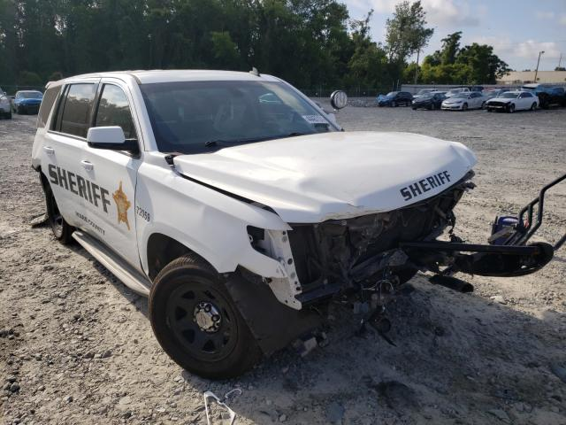Salvage cars for sale from Copart Tifton, GA: 2015 Chevrolet Tahoe Police