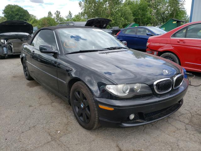 Salvage cars for sale from Copart Portland, OR: 2006 BMW 325 CI