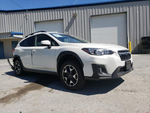 Salvage cars for sale from Copart Albany, NY: 2019 Subaru Crosstrek