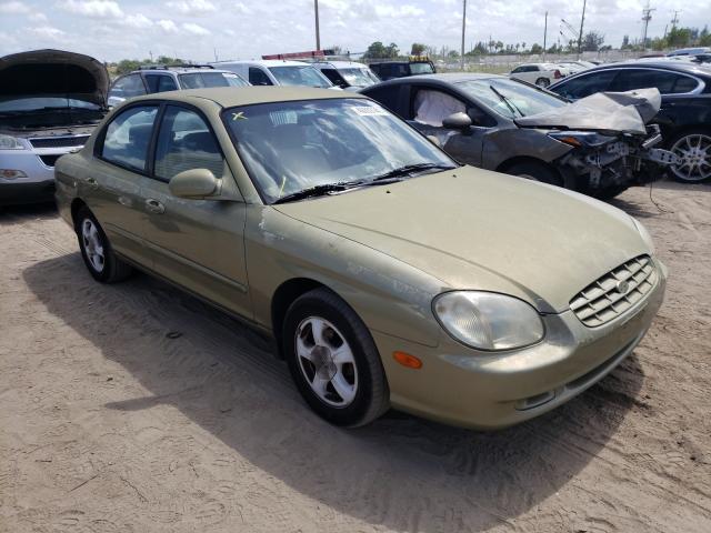 Salvage cars for sale from Copart West Palm Beach, FL: 2000 Hyundai Sonata GL