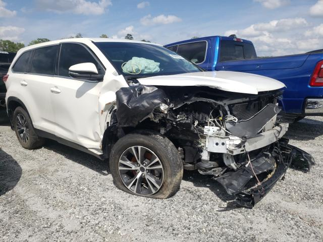Salvage cars for sale from Copart Spartanburg, SC: 2019 Toyota Highlander