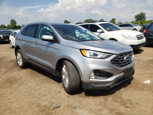 Salvage cars for sale from Copart Columbia Station, OH: 2020 Ford Edge Titanium