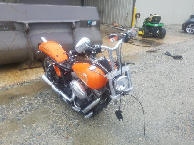Salvage cars for sale from Copart Seaford, DE: 2010 Harley-Davidson Fxdb